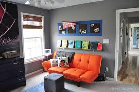 gray and orange bedroom home design home design