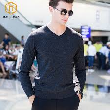 formal sweaters macrosea 100 wool v neck knitted design s sweater