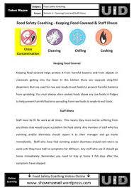 food safety worksheets worksheets