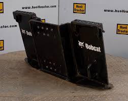 hunt tractor new bobcat 463 mini universal skid steer adapter