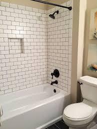 subway tile bathroom best 20 black grout ideas on pinterest