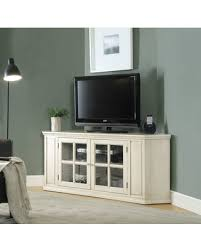 antique white tv cabinet spectacular deal on wooden corner tv stand with glass doors antique