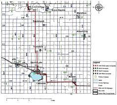 Map Of Iowa Counties Buena Vista County