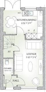 Redrow Oxford Floor Plan 2 Bedroom Terraced House For Sale In Buckshaw Village Chorley