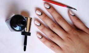 an easy way to make your gel manicure look incredibly chic while