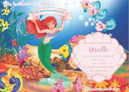 mermaid wedding invitations