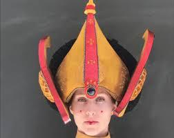 Queen Amidala Halloween Costume Queen Padme Amidala Cosplay Star Wars Free Shipping