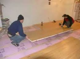easy way to insulate your concrete floor sing honeycomb panels