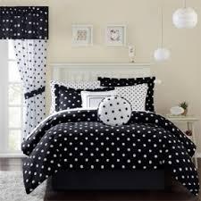 Polka Dot Bed Set Black And White Polka Dot Comforter Set Foter