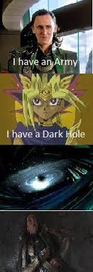 avengers vs yugioh meme by meowmeowmeow21 on deviantart