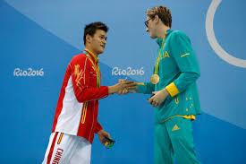 Gold Fringed Flag Meaning Olympic China Mocks Australia After Mack Horton Doping Jibe Time