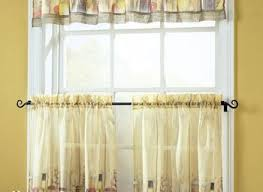 Pretty Kitchen Curtains by Yellow Kitchen Curtains Constructingtheview Com