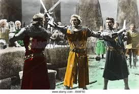 Knights Of The Round Table 1953 Richard Thorpe Robert Taylor Stock Photos U0026 Richard Thorpe Robert
