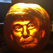 plastic light up halloween pumpkins 10 trumpkins that are making halloween great again inhabitat