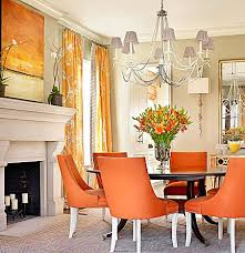 orange dining room romantic orange dining room chairs home and interior home gallery