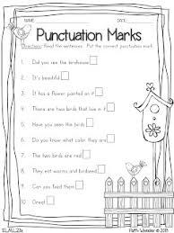 free punctuation worksheets worksheets