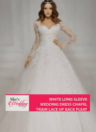 wedding dress malaysia buy white sleeve wedding dress malaysia lace up chapel