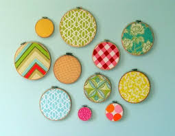Simple Craft Ideas For Home Decor Embroidery Hoops W Fabric Such A Simple Diy Project For Nurseries