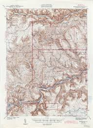 Topographic Map United States by