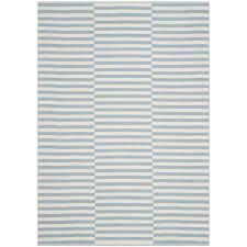 safavieh montauk ivory light blue 5 ft x 7 ft area rug mtk715b