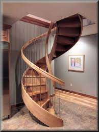 Quarter Turn Stairs Design Custom Curved Stairs By Unique Spiral Stairs