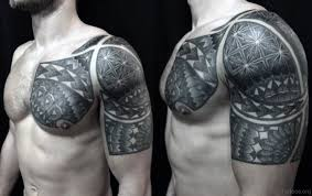 60 new styles geometry tattoos on arm