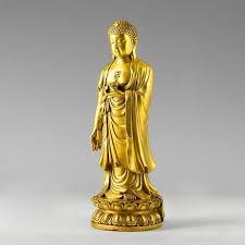 the light copper buddha ornaments shakya muni buddha
