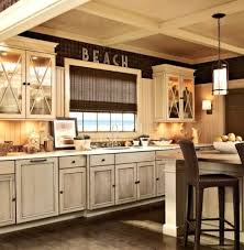 Best  Distressed Kitchen Ideas On Pinterest Distressed - Antiqued kitchen cabinets