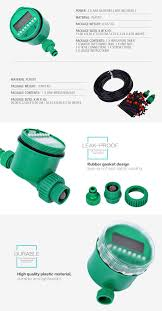 reading l with timer 25m diy micro drip irrigation system plant self automatic watering