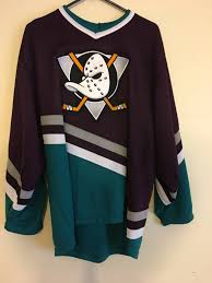 Mighty Ducks Flag Vintage Mighty Ducks Jersey Size L Jerseys For Sale Grailed