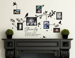 multi photo frames with quotes webforfreaks com collaged favorites source multi size photo frames with birds quotes wall art vinyl stickers