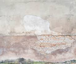 wall mural broken bricks photo wallpaper concrete happywall