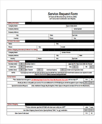 Service Request Template Excel Request Form In Excel