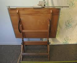 antique drafting table sold vintage mission style drafting table with k u0026e auto flow
