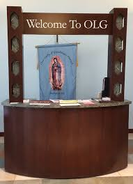 check in desk sign 6 5 foot x 42 inch x 30 inch single or double welcome desk with sign