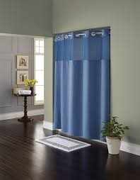 Best Fabric For Shower Curtain Amazon Com Hookless Rbh82my417 Fabric Shower Curtain With Built