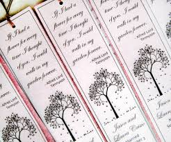 seed paper wedding favors wedding favor bookmarks plantable paper bookmark seed paper