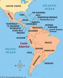 south america map belize map of south america including mexico major tourist