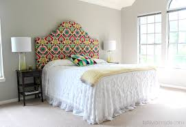 Diy Interior Design by Cool Diy Fabric Headboard On Kindle Your Creativity Master Bedroom