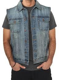 Light Blue Vest Classics Jean Jacket Denim Vest Light Blue