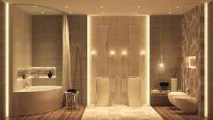 luxury bathroom decor which combine with trendy and modern design