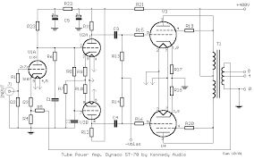 tube power amp dynaco st 70 circuit diagram and instructions