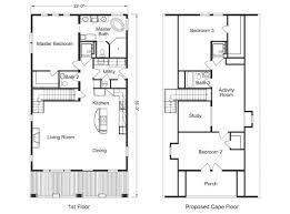 steel buildings with living quarters floor plans floor plan