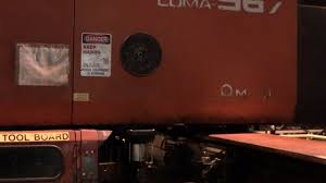 amada coma 567 turret punch press youtube