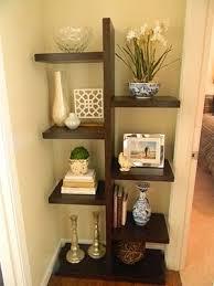 Bookshelves Corner by Best 20 Corner Ladder Shelf Ideas On Pinterest Ladder Shelves