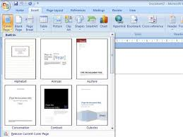 membuat novel di ms word membuat cover pada ms word 2007 creations