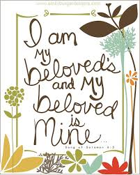 i am my beloved i am my beloved s and my beloved is mine by emilyburgerdesigns
