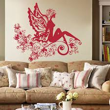 Modern Wall Stickers For Living Room Compare Prices On Fairy Rooms Online Shopping Buy Low Price Fairy