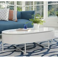 Lift Up Coffee Table Pod Lift Up Coffee Table White Dwell