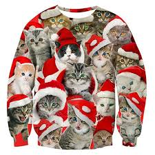 cat christmas 13 christmas cat sweaters every feline lover needs